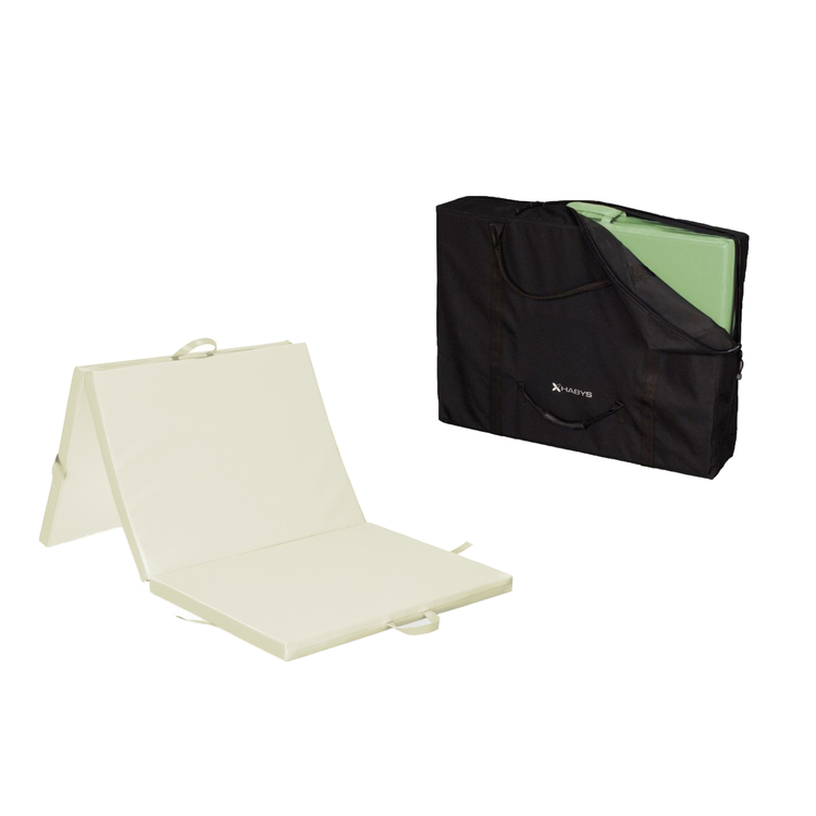 Pack shiatsu cr me promo 160 malea for Housse matelas transport