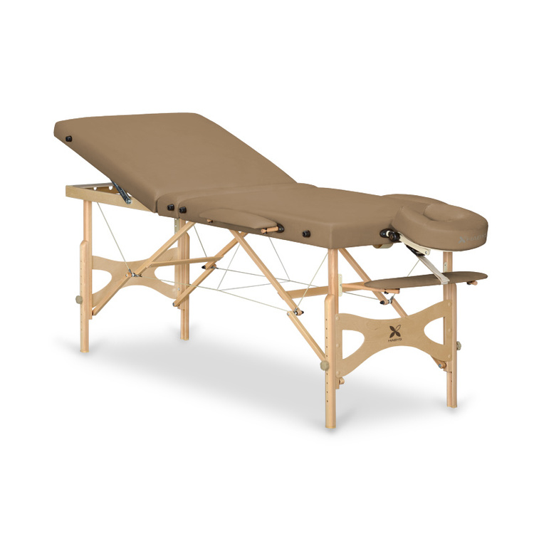 Table de massage panda plus capuccino promo 405 - Table esthetique pliante legere ...