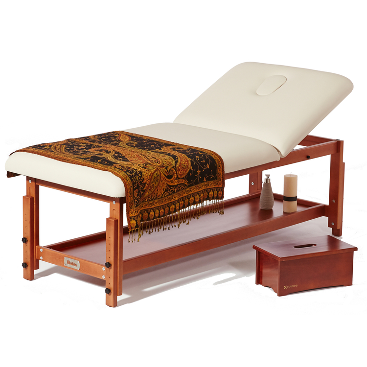 Table de Massage Elite u00ae Cr u00e8me 80 cm Promo 700 u20ac Malea u00ae # Table De Massage En Bois