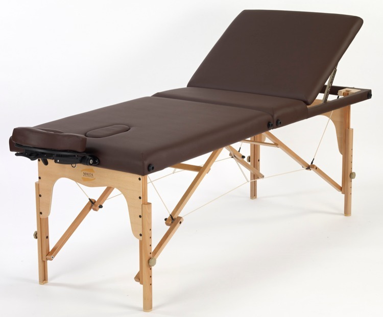 Table de massage tempo noir promo 230 malea - Table massage pliable ...