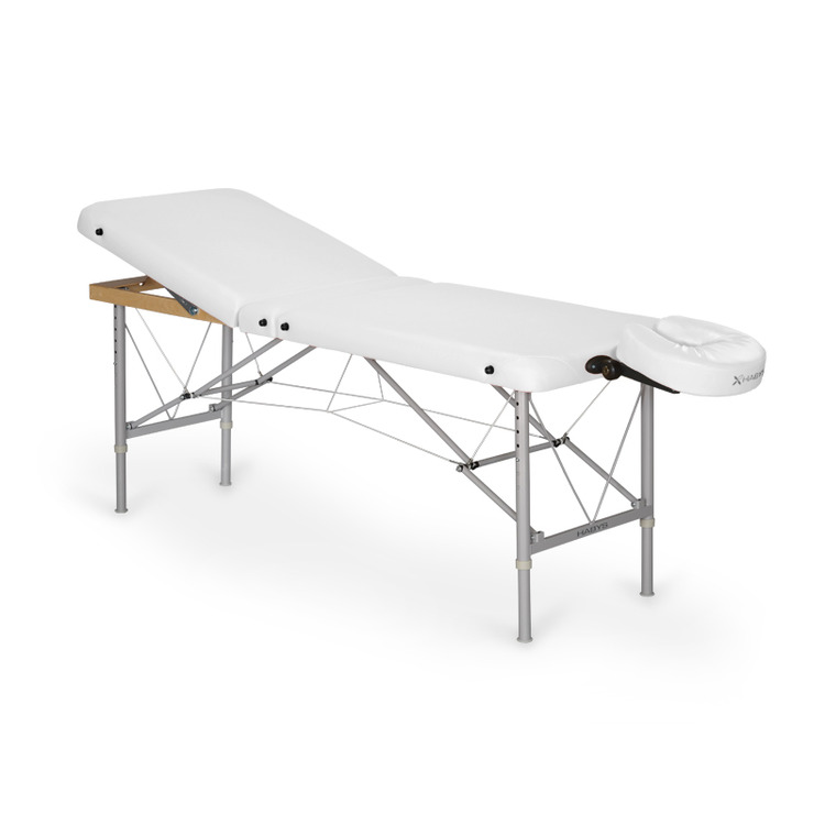 Table de massage a ro plus blanche promo 475 malea - Table esthetique pliante legere ...