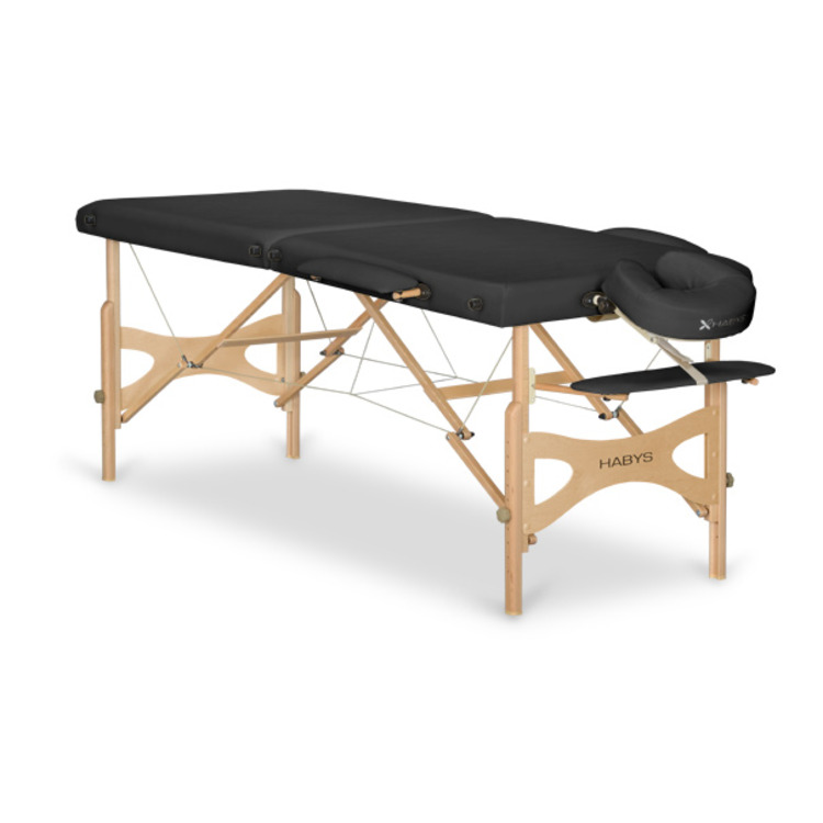 Table de massage panda noir promo 330 malea - Table esthetique pliante legere ...
